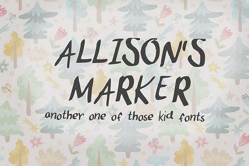 FNT#0001 - Allison's Marker