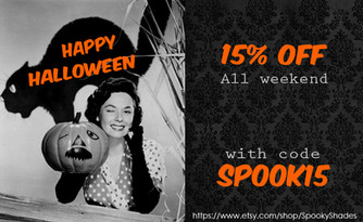 Halloween Weekend Sale!
