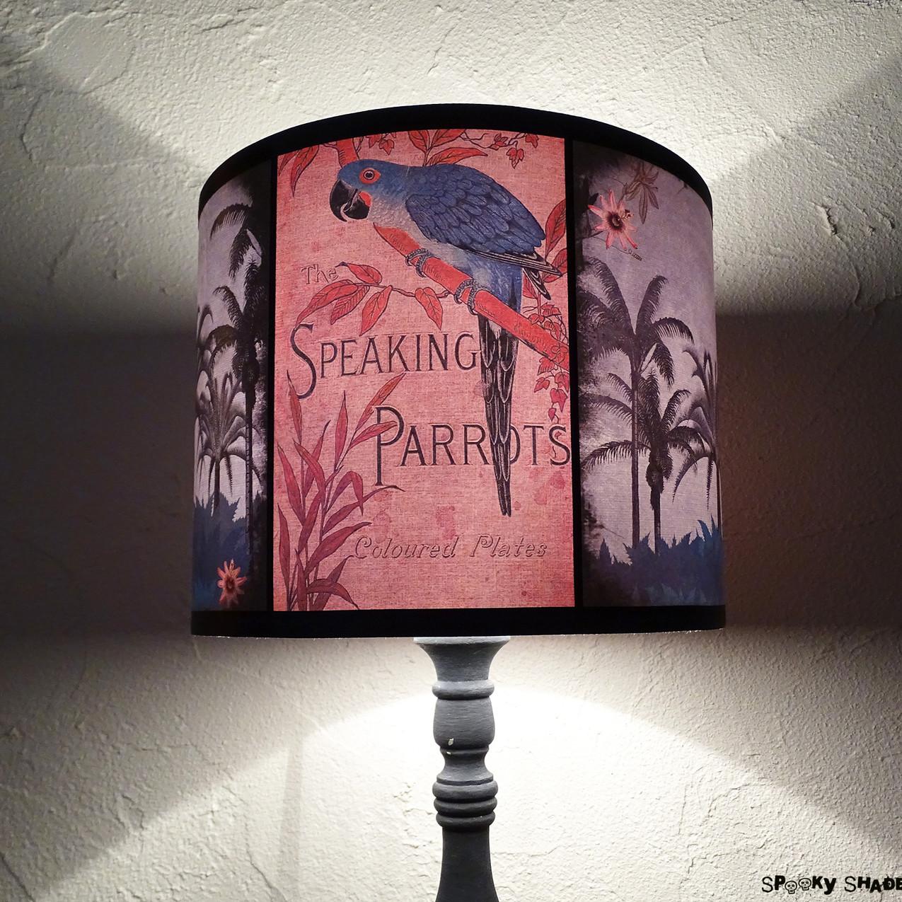 Speaking Parrots tropical