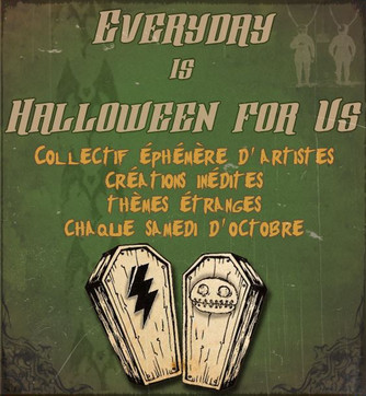 Everyday is Halloween For Us 2014
