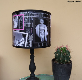 Hollywoodland lampshade