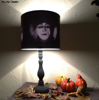 NEW: The Cabinet of Dr Caligari lampshade