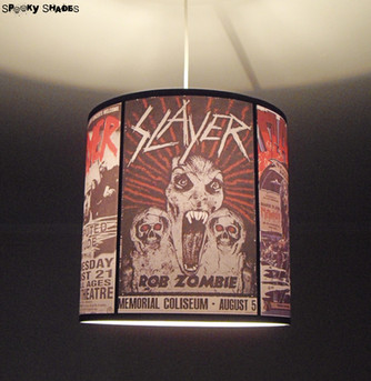 Offer a custom lamp shade for Christmas!