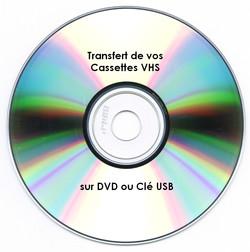 VHS vers DVD