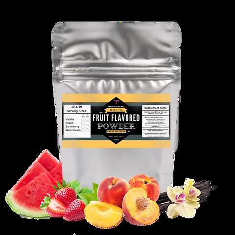 Fruit Flavored 5mg Per Serving CBD Powder / Broad Spectrum – 0% THC