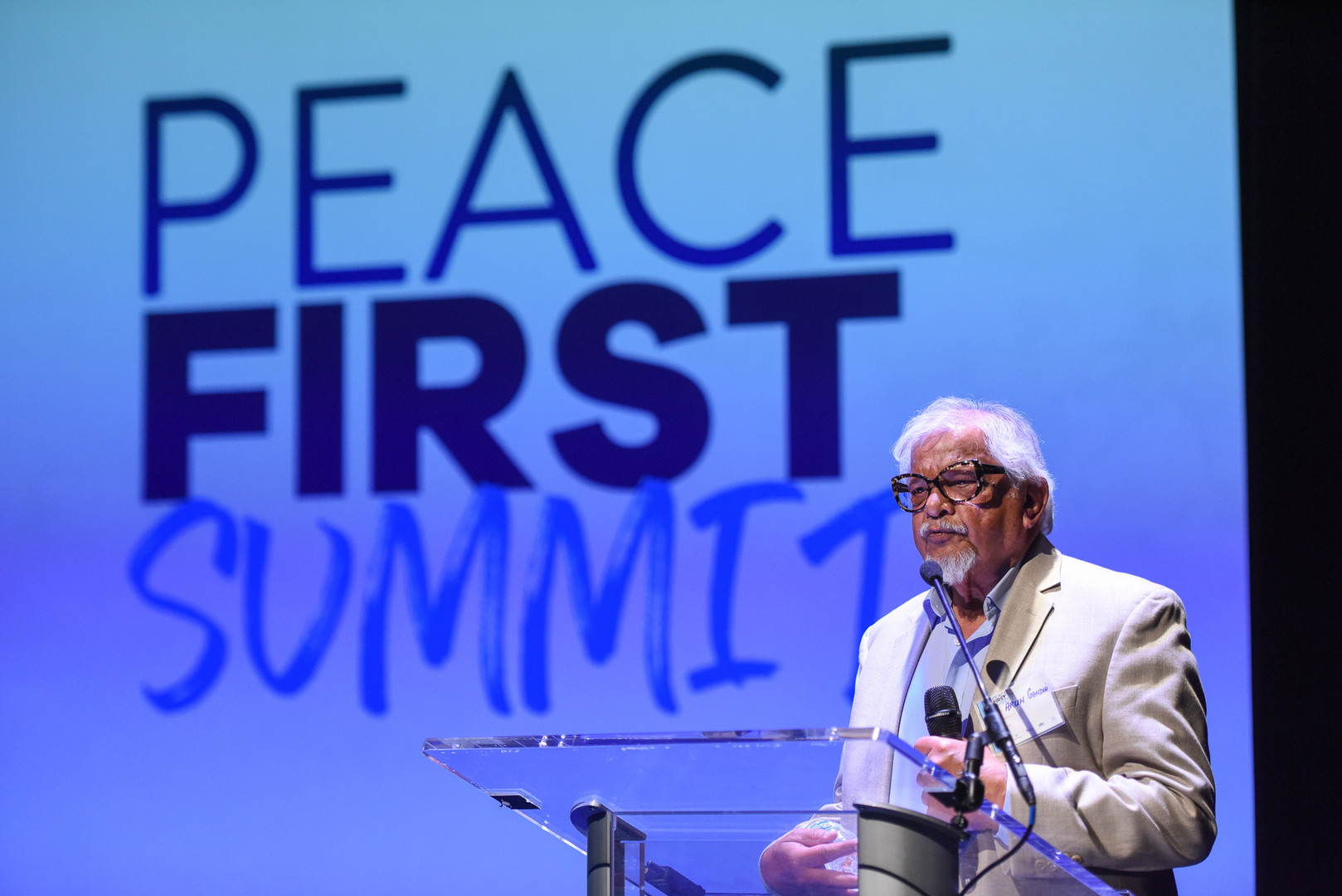 Inaugural Peace Frst Summit Fall 2018. S