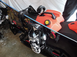 Snowboard Racks with Link System