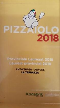 Pizzaiolo vanhet jaar 2018 provincie antwerpen