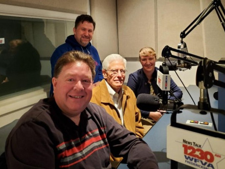 CVBT Talks About Local Civil War History LIVE & ON-AIR