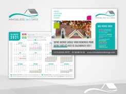 Flyer Calendrier pour une Agence Immobilière