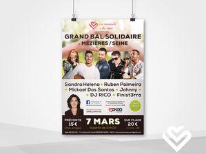 Affiche pour une Association Caritative