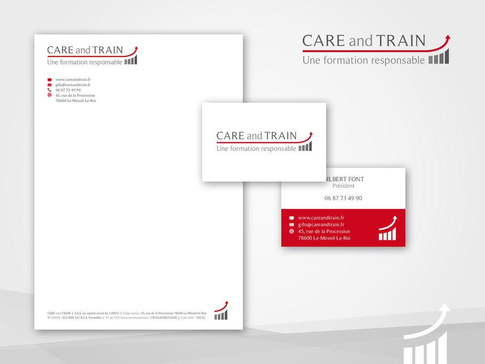 Charte Graphique Carte and Train