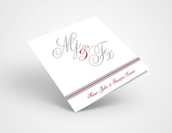 Faire-Part de Mariage M&F