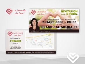 Carton d'Invitation pour une Association