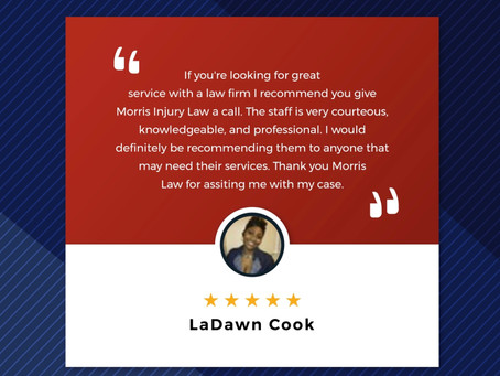 Client Review - Las Vegas Car Accident Attorney