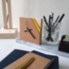 Two Layers Interieur accessoires kleine klok