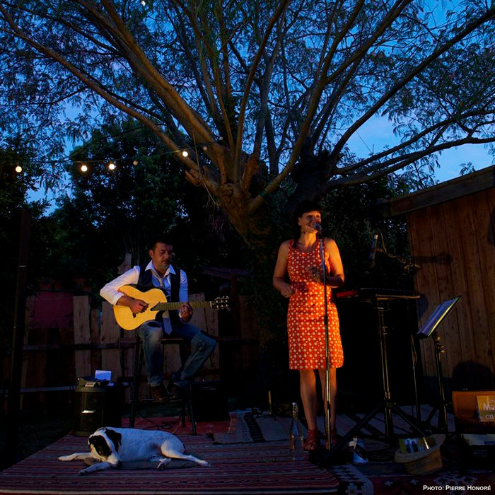 Concert at home - Lina Modika