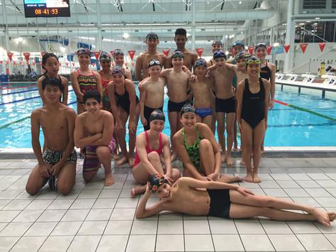 Cheltenham Swimmers Compete in Interclub since 1973