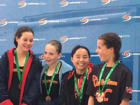 Girls Take Bronze at Metro Champs