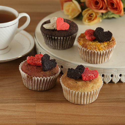 Double Heart FITmuffins