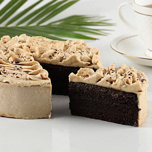 Coffee Flourless FIT Cake