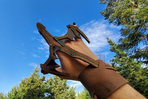 Dragon bracelet (green)