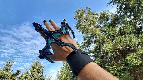 Dragon bracelet (teal)
