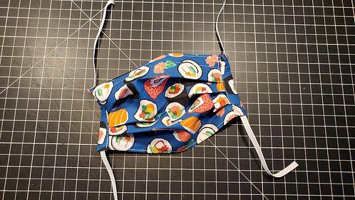 Cloth Face Mask (Sushi)