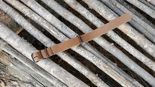 Zulu Watch Strap 20mm (black matte)