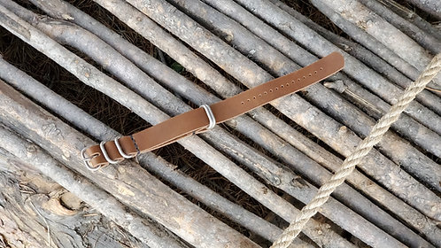Zulu Watch Strap 20mm (nickel matte)