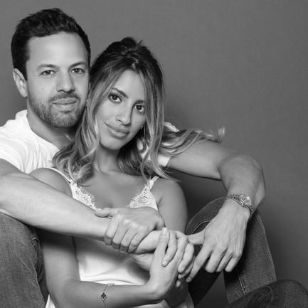 engagement-photoshoot-beauty-fashion-nyc-black and white