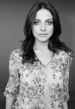 portrait-woman-black and white-New York