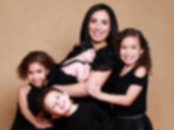 Family portrait photography at Daisy Rey Photography studio in New Jersey