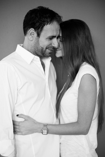 beautiful-couple-portrait-black and white-nyc
