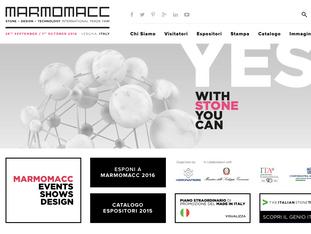 Marmomacc 2016 Международная выставка натурального камня, дизайна и технологий - International Trade