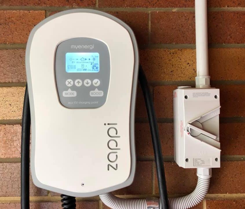 Myenergi Zappi electric car charger Aust