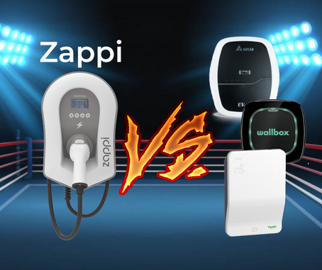Zappi vs common wall chargers: Is the Zappi king?