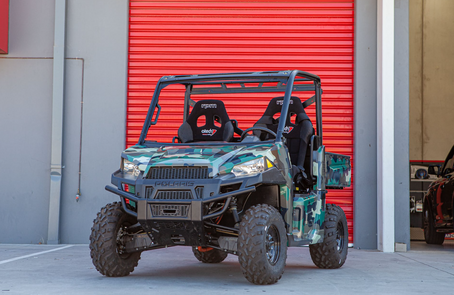 Innovative e-ATV vehicle for the Australian Defence Force: a one-of-a-kind project