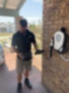 Level 2 EV charging home installation