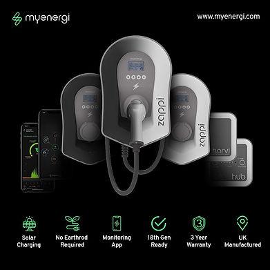myenergi zappi home EV charging solar po