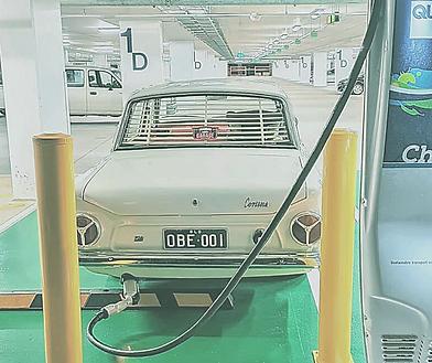 Tim Harrison's 1965 Cortina ICE to EV co