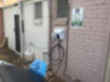 Cylon EV electric car charging station at Koo Wee Rup