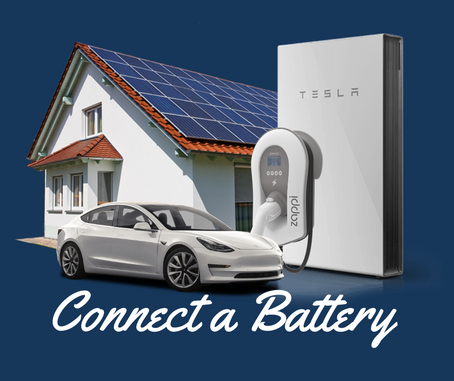 Connecting the Zappi to a home battery & Tesla Powerwall