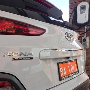Hyundai Kona EV and myenergi zappi.JPG