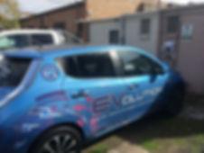 Cylon EV car charging Nissan LEAF Koo Wee Rup