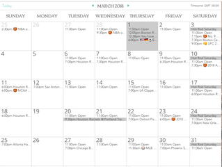 Check out our new CALENDAR!!!