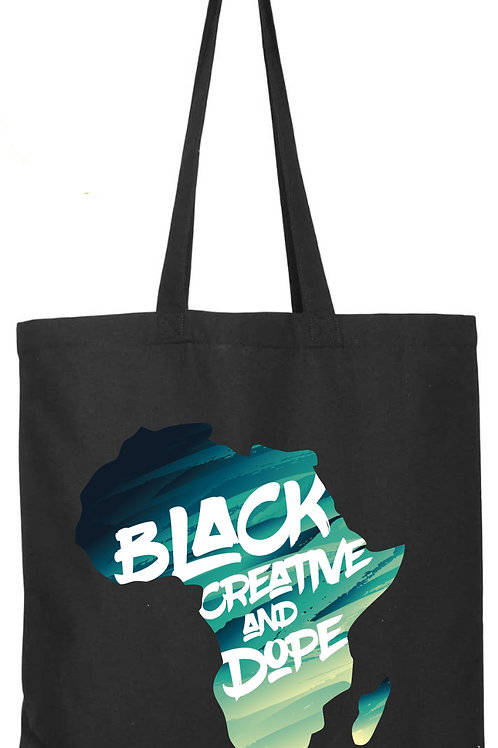 Black Creative Tote