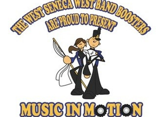 """Hamburg Percussion is a program sponsor of West Seneca Marching Band """"Music in Motion"""" Fie"""