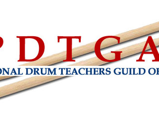 Hamburg Percussion honored as member of the Professional Drum Teachers Guild of America