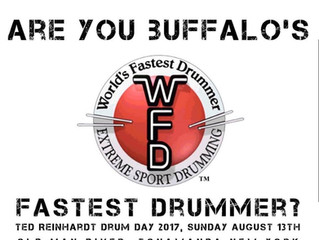 Are YOU Buffalo's Fastest Drummer?